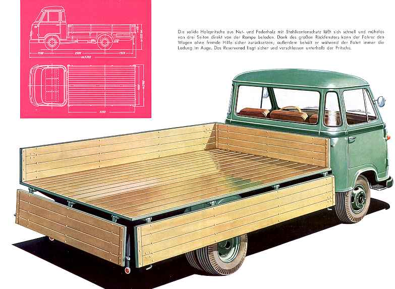 1957-62 Borgward b 611 26