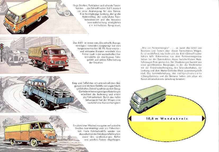 1957-62 Borgward b 611 27