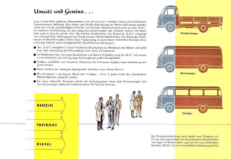 1957-62 Borgward b 611 39