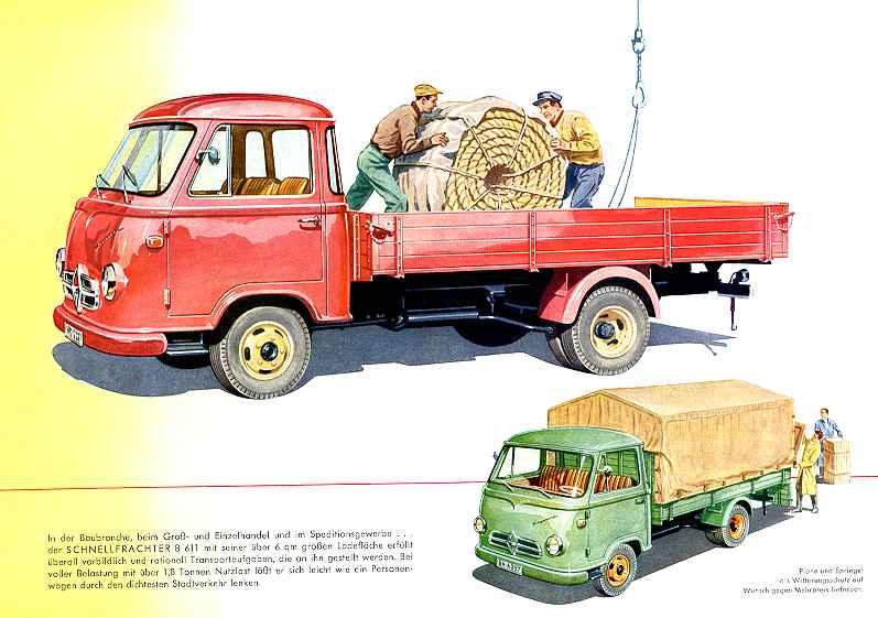 1957-62 Borgward b 611 40