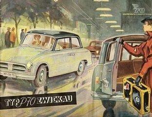 1957 AWZ P70 Zwickau