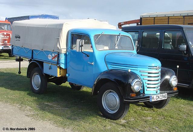 1957 Barkas-Framo V 901