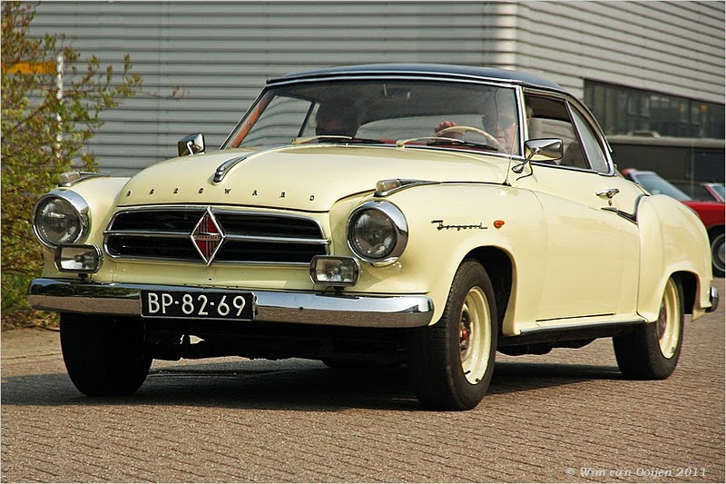 1957 Borgward Isabella coupe- 2