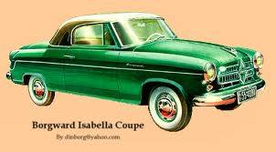 1957 Borgward Isabella Coupe