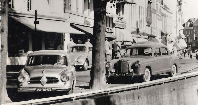 1957 Borgward Isabella Kombi VX-30-53 & Mercedes-Benz 220 S 1958 XX-91-98