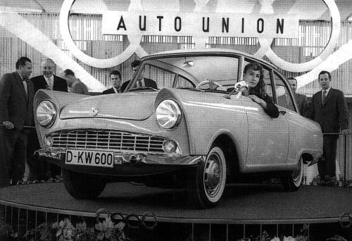 1957 Dkw 600 frankfurt