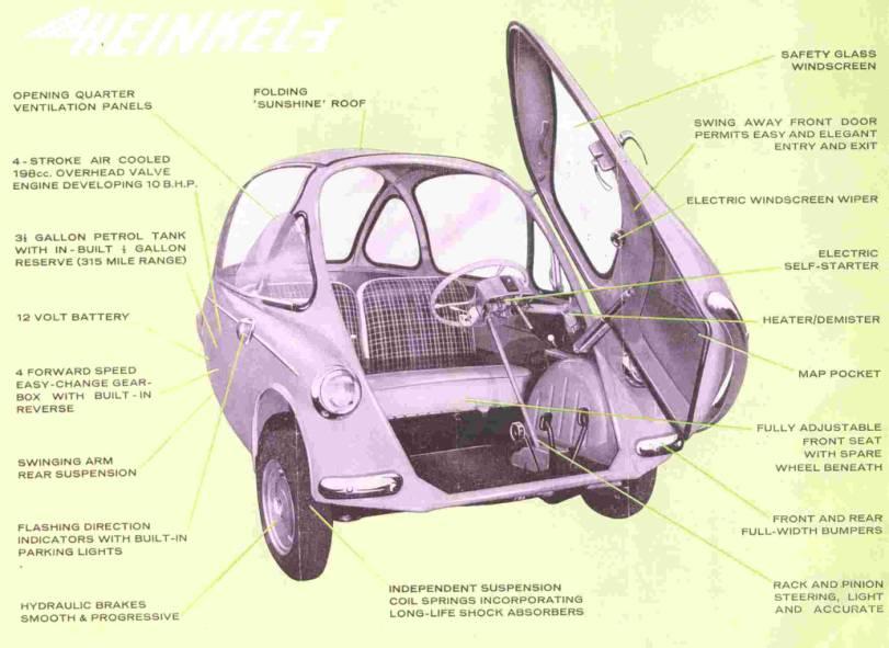 1957 Heinkel cabin 3