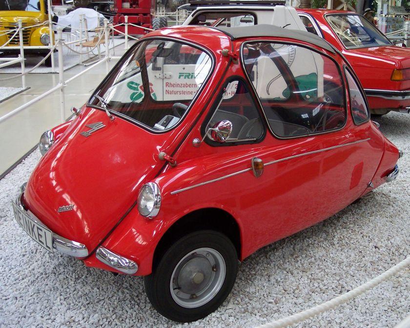 1957 Heinkel Kabine vl red