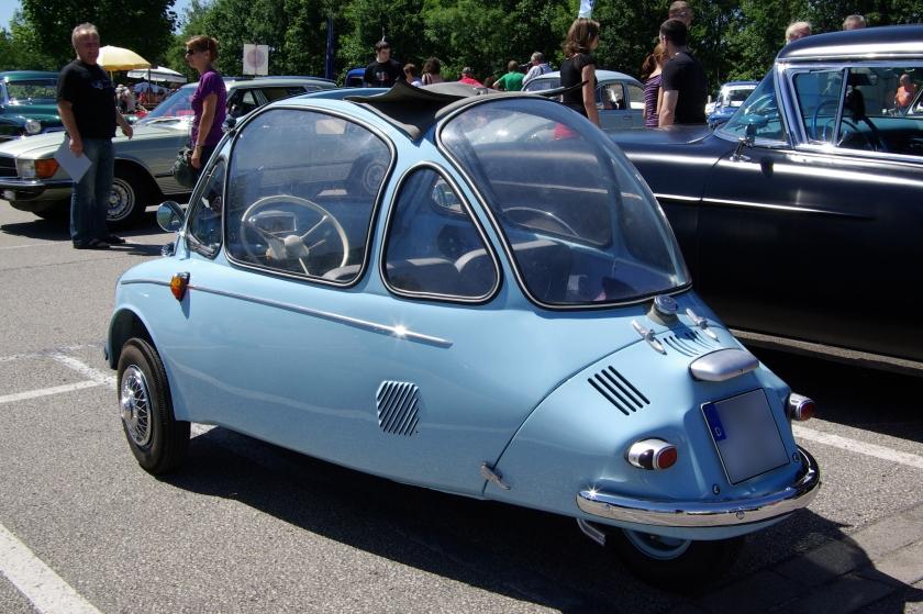1957 Heinkel Trojan 153 BW 2