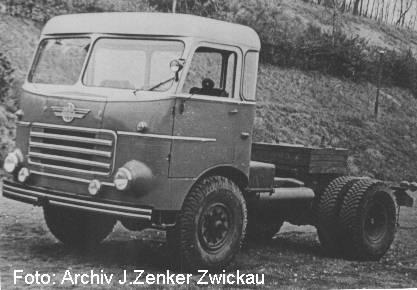 1957 IFA AZ auffolger H6