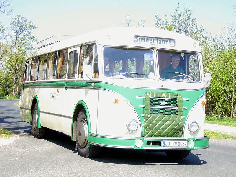 1957 IFA H6B L Kraftverkehr Dresden