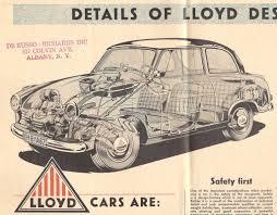 1957 Lloyd 600