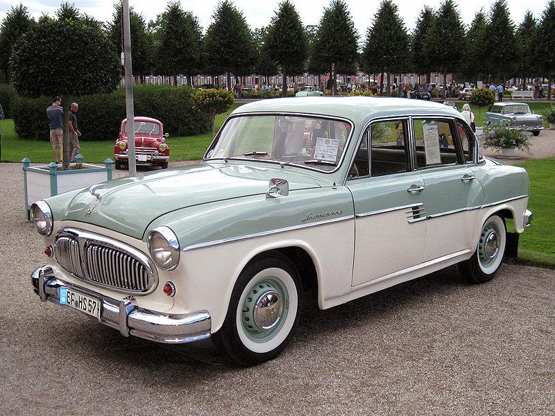 1957 Sachsenring P240 (Horch) Limousine