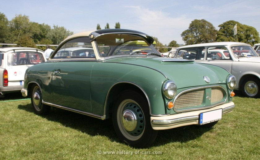 1957 veb sachsenring 1957 awz p70 coupe