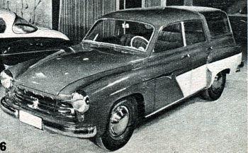 1957 wartburg camping limousine