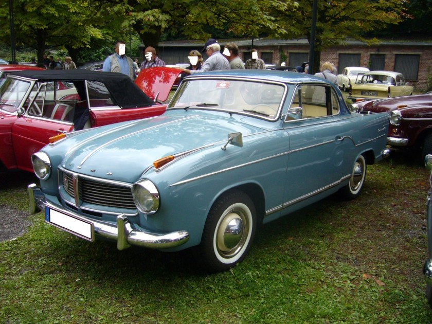 1958-59 Hansa 1100 Coupe.