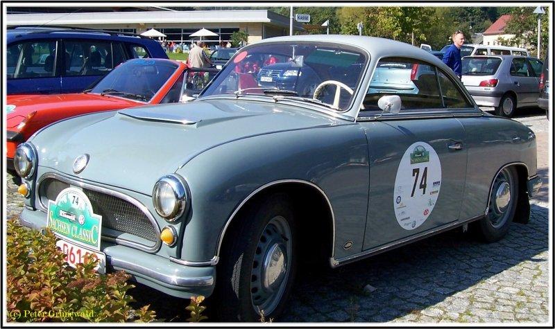 1958 AWZ, ( Zwickau ), P 70 COUPE