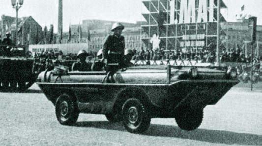 1958 Barkas P-2S, 4x4 Amphibie voertuig