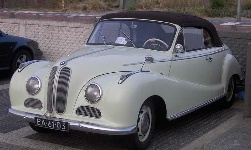 1958 BMW 502 F Baur