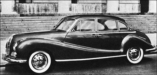 1958 BMW 502 V8 Sedan
