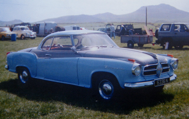 1958 Borgward Coupé