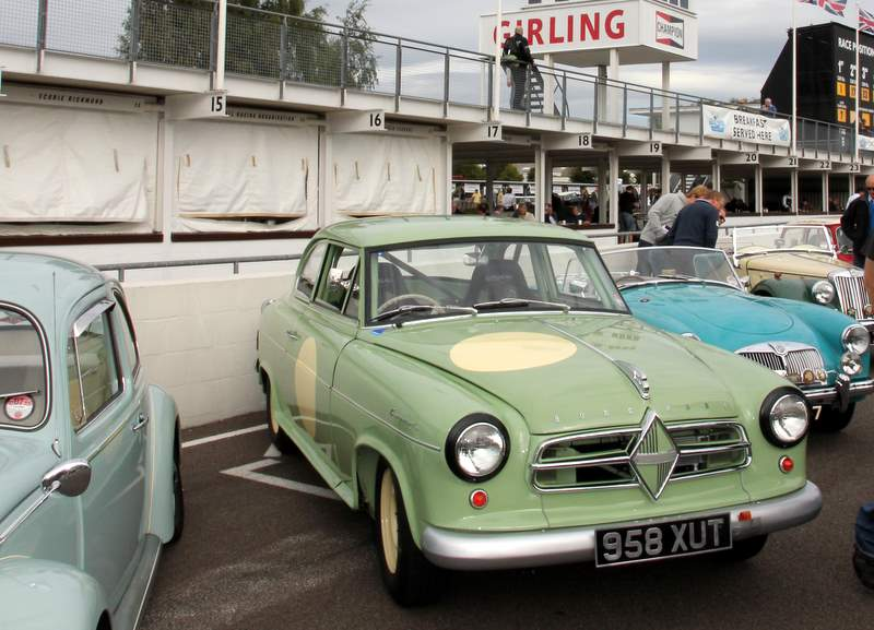 1958 Borgward Saloon