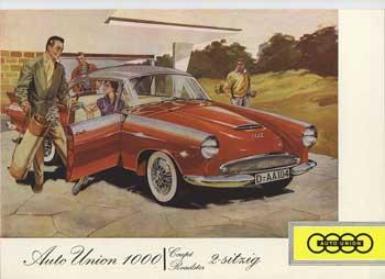 1958 dkw -au 1000 coupe a