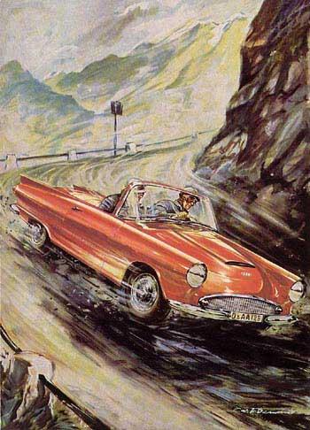 1958 dkw -auto union 1000 cabrio
