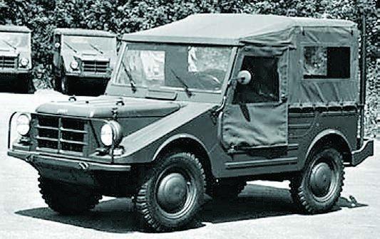 1958 DKW F91-6, 4x4