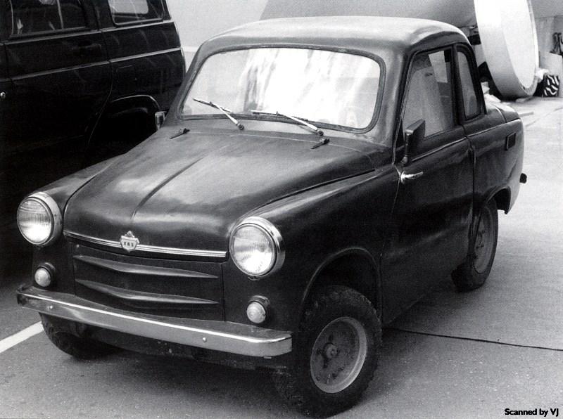 1958 Gaz 18 Prototype - fVl (Russia)
