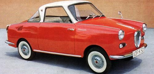 1958 goggomobil coupe
