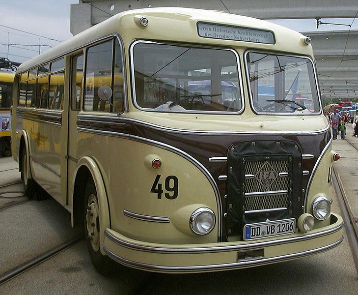 1958 IFA H6B-S Dresden