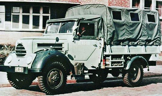 1958 Robur Garant-30KAW-Zg, 4x4