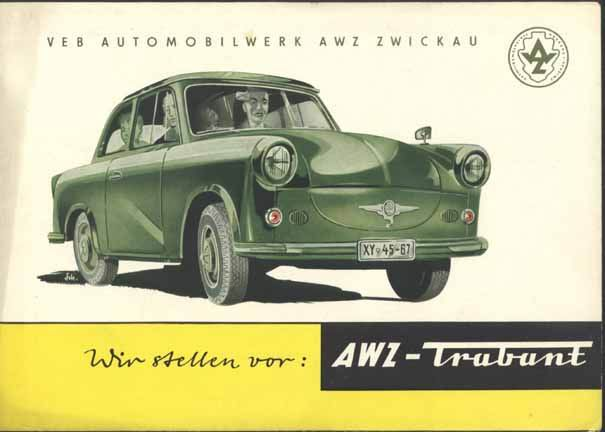 1958 Trabant p50 prospekt 1