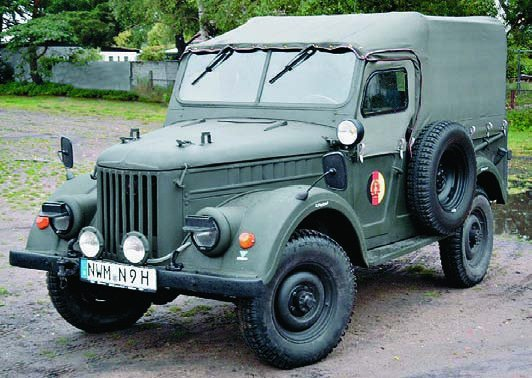 1958 Trucks GAZ-69 (4x4) with R-125 radio
