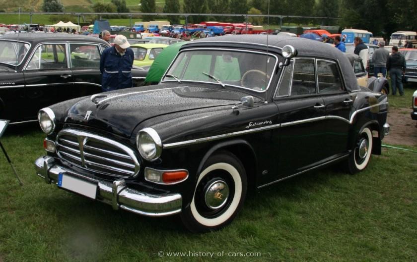 1958 veb sachsenring 1958 sachsenring p240 4door convertible