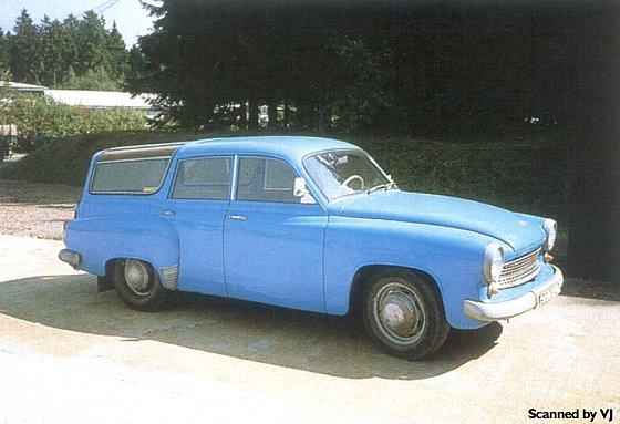 1958 Wartburg 311-5 Camping by Glaser - fVr (DDR)