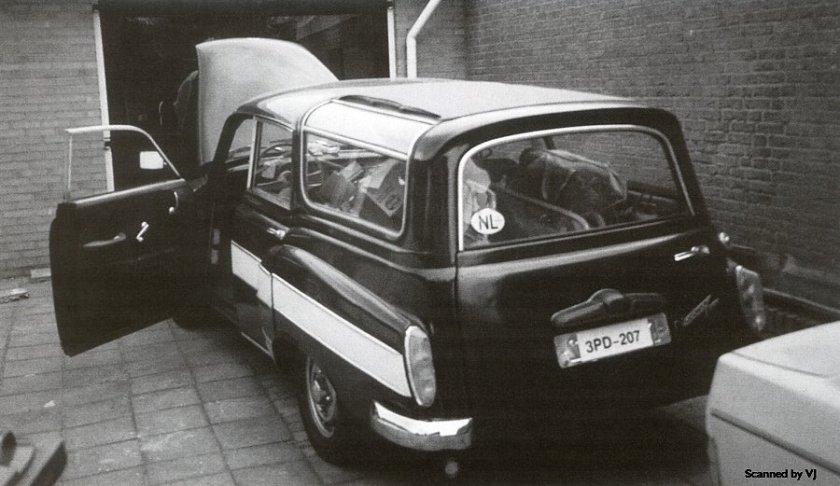 1958 Wartburg 311-5 Camping by Glaser - rVl (DDR)