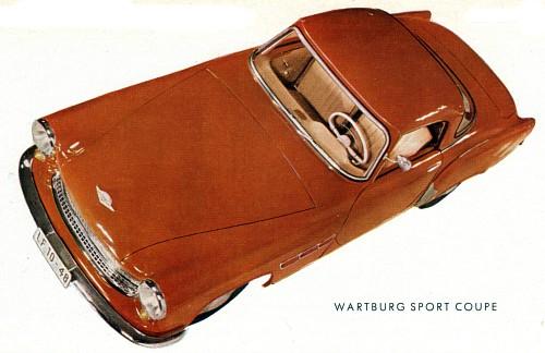 1958 wartburg 313-1