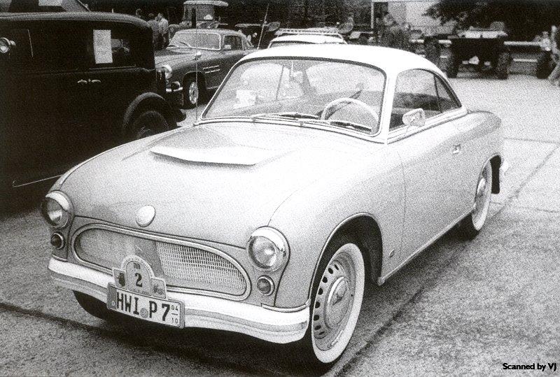 1958 Zwickau P70 Coupe - fVl (DDR)