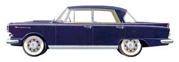 1959 Borgward 2,3 Liter