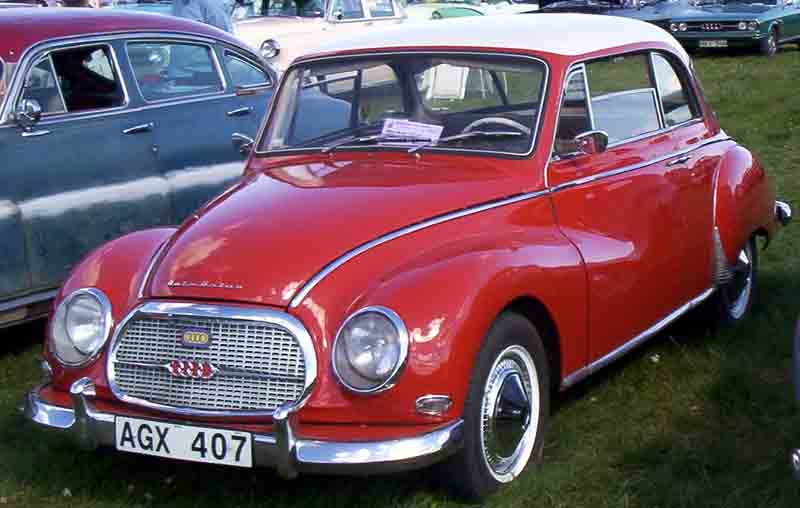 1959 DKW AUDI 1000 Coupe