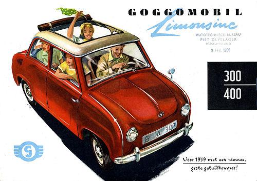 1959 goggomobil sedan