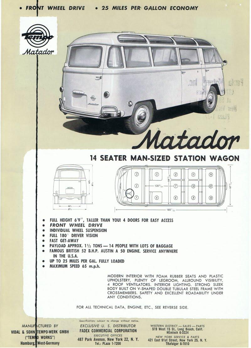 1959 Tempo Matador