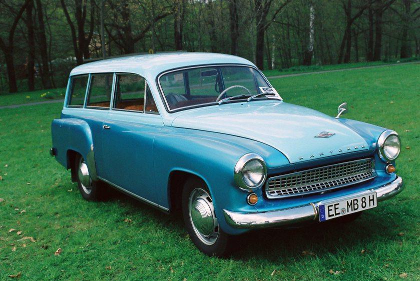 1959 Wartburg camioneta ...modelo 311