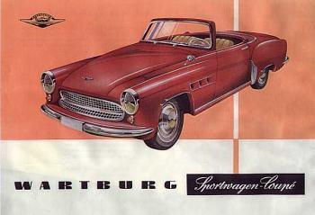 1959 wartburg pros 313 sport roadster