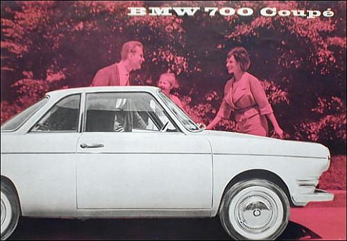 1960 BMW 700 Coupe (Oldtimer Markt)
