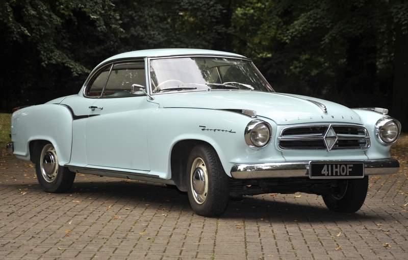 1960 Borgward Atkinson coupe