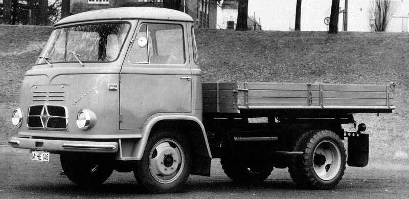 1960 Borgward b622