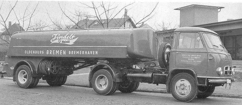 1960 Borgward B655 Tanklastwagen